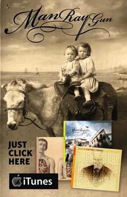 ManRayGun on itunes ad
